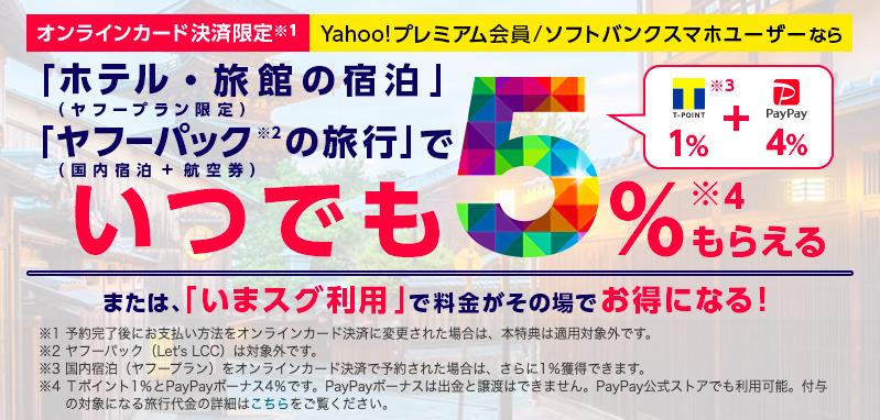 Yahoo!プレミアム会員特典