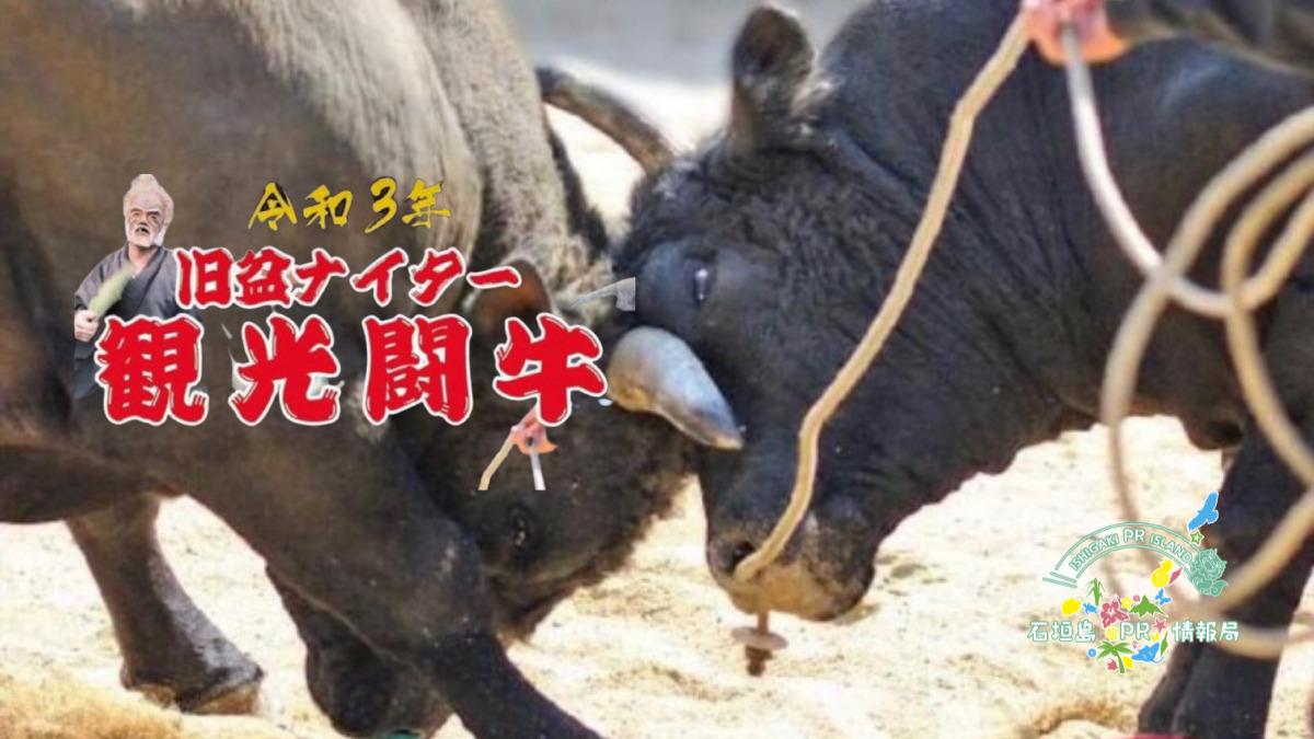 令和3年旧盆ナイター観光闘牛大会