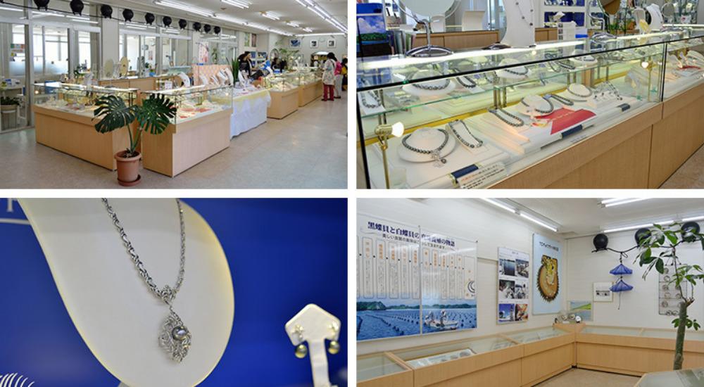 琉球真珠本店内の様子