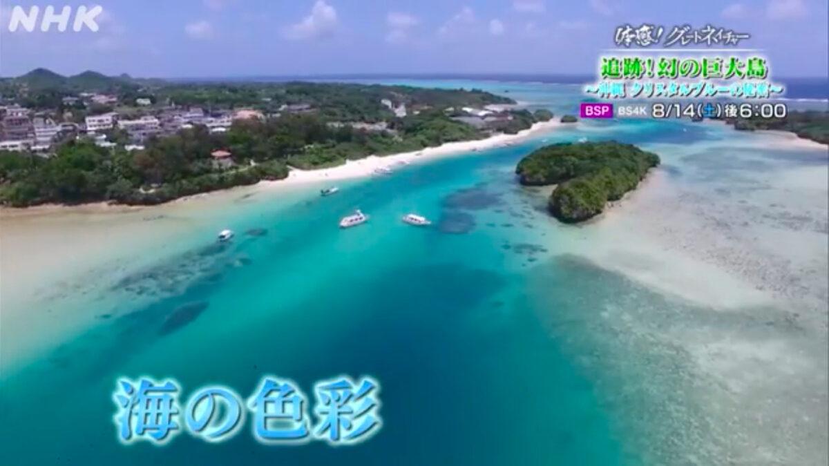 体感!グレートネイチャー▽追跡!幻の巨大島〜沖縄 クリスタルブルーの秘密〜
