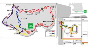 第19回石垣島マラソンコース