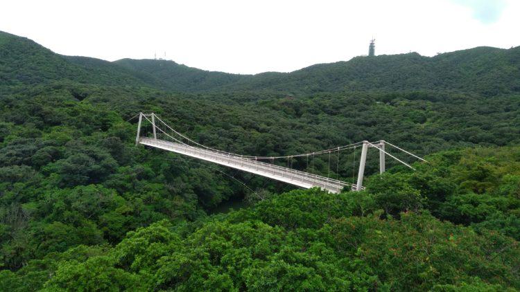 カンムリワシ展望台から聖紫花の橋