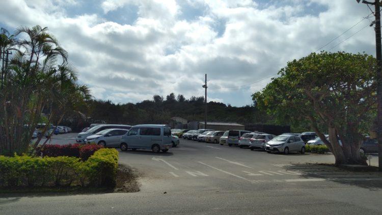 フサキビーチリゾートホテル&ヴィラズ無料駐車場2