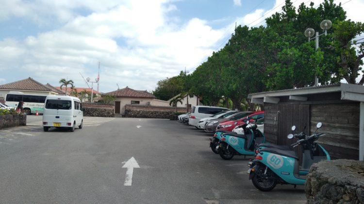 フサキビーチリゾートホテル&ヴィラズ無料駐車場1