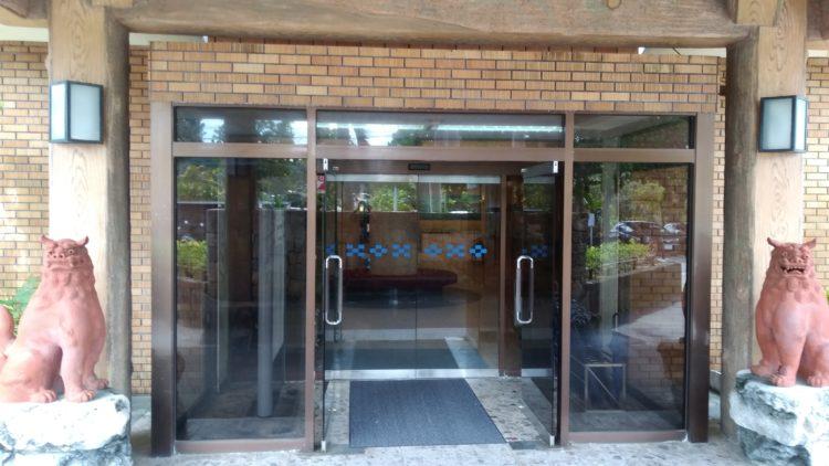 フサキリゾートホテル玄関