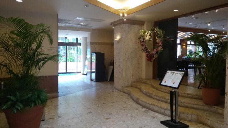 フサキリゾートホテルロビー