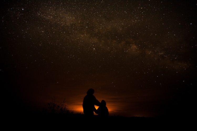 プライベートなイメージで眺める星空