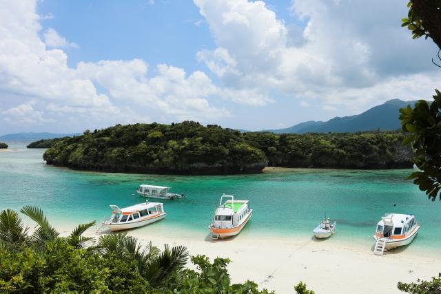 石垣島の川平湾