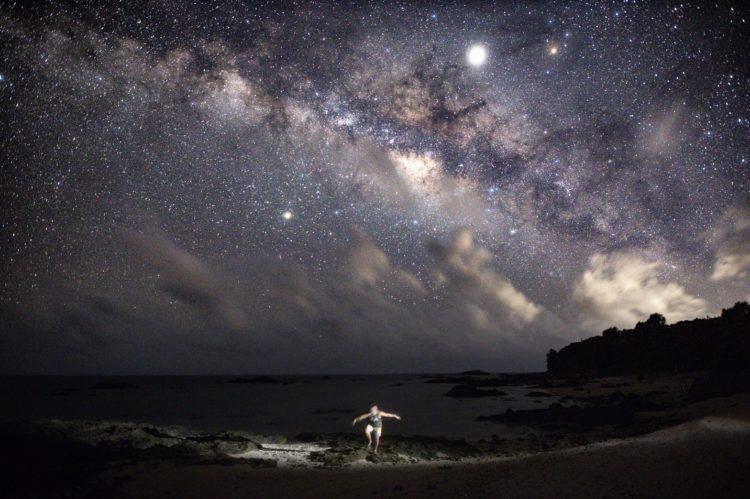 名蔵湾の星空ツアー