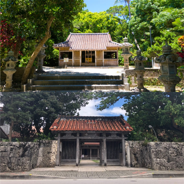 上:冨崎観音堂 下:桃林寺