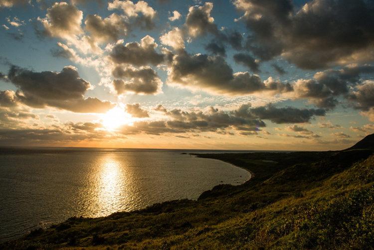 平久保崎灯台から見たサンライズ