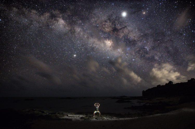 名蔵湾から見た星空|石垣島シュノーケルツアー