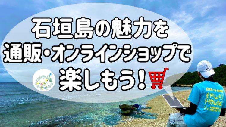 石垣島の通販サイト・ネットショップ を無料でPRしようとしている様子