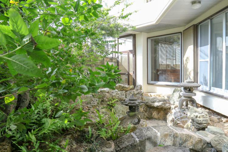 CORE HOUSE 石垣島の外庭