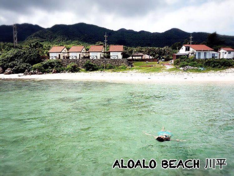 空撮:ALOALO BEACH 川平