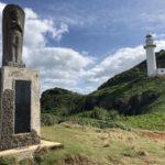 御神崎灯台と菩薩像