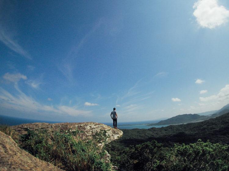 屋良部岳の山頂